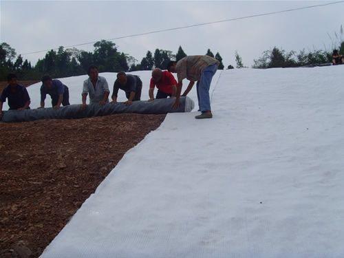 膨润土防水毯施工图解